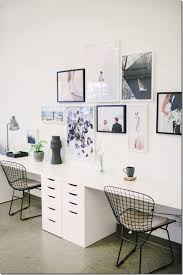 Two Person Home Office Desk Two Person Desk Design Ideas For Your Home Office Desks Gallery