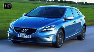 volvo hatchback 2016 2016 volvo v40 luxury hatchback facelift exterior design and test
