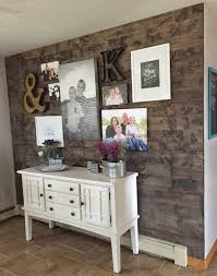 reclaimed wood wall table how to fake a reclaimed wood wall diy accent wall out of wood