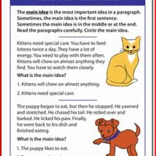 20 images of reading passages for first grade reading kristal