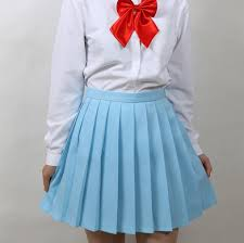 pleated skirt japanese student uniforms pleated skirt asian kawaii