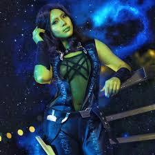 gamora costume guardians of the galaxy gamora costume women jumpsuit