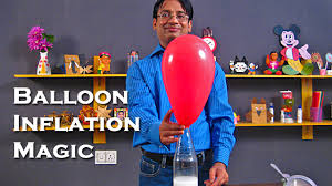 balloon inflation magic with vinegar and baking soda easy