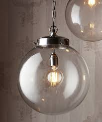 crystal pendant lights kitchen glass globe pendant light large crystal glass christophe living