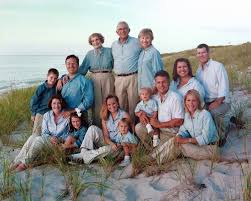 family portrait clothing ideas family with color coordinated