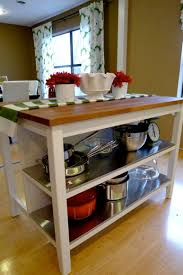 kitchen island with shelves stainless steel s helving side of ikea island all at a reasonable