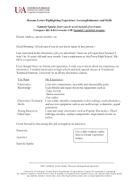 Skill Resume Example Skills And Accomplishments Resume Examples Resume Templates