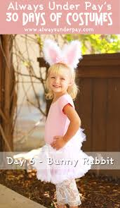 Rabbit Halloween Costume 6 U2013 Bunny Rabbit Diy Halloween Costume Tutorial Cheap Easy