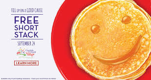 Get Free Pancakes At Participating Free Pancakes At Perkins Restaurants Today 9 24 Only Living Rich