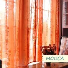 Living Room Curtains Walmart Sheer Orange Curtains U2013 Teawing Co