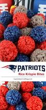 new england patriots rice krispie bites two sisters crafting