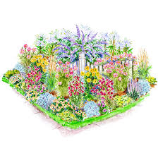 beautiful flower garden layout planner perennial flower garden