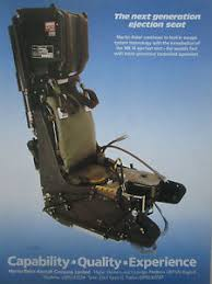 siege ejectable 11 1986 pub martin baker ejection seat mk 14 siege ejectable