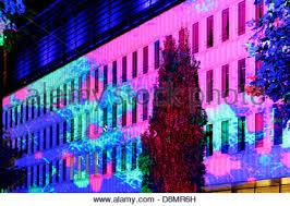 hamburg festival of lights illuminated trees city nord festival of lights hamburg germany