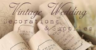 vintage wedding favors vintage wedding decorations accessories and favor supplies