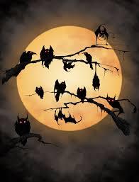 full moon halloween pinterest