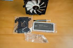 cryorig h7 cpu cooler review enostech com