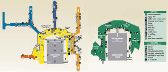 Washington Airport Map by Bwi Airport Map Bwi Terminal Map