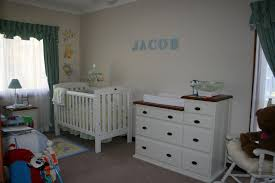 ideas for baby boy room decor nursery contemporary wall bedroom