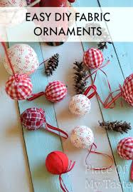 childrens ornament crafts ideas fabric ornaments easy