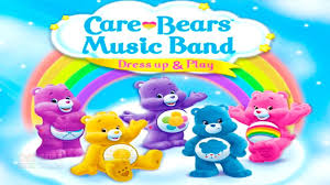 fun baby care kids game learn play fun care bears music band