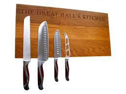 how to make kitchen knives magnetic knife rack