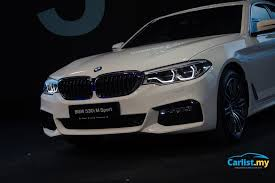 bmw car price in malaysia all 2017 bmw 5 series g30 launched in malaysia cbu 530i m