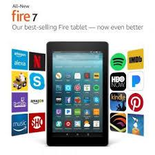 black friday tablet amazon fire 8 deals 2016 amazon fire 7 u201d wi fi tablet with alexa sale 34 99 fire 7