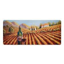Vineyard Kitchen Rugs Wine Comfort Mat Frontgate