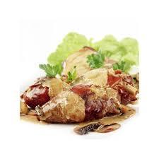 plat cuisiné achat sauté de volaille aux chignons forestiers plat cuisiné