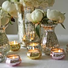 mercury tea light holders mini mercury pink tea light holder by the wedding of my dreams