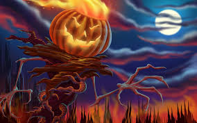 1080p halloween wallpaper halloween scarecrow holiday hd