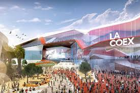 los angeles may throw out convention center redesign plan for