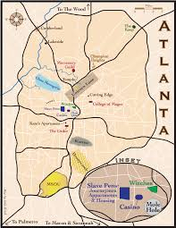 Mole Map Map Of Post Shift Atlanta