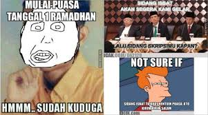 Icak Meme - ngakak netter bikin meme dari sidang isbat 1 ramadan 2015 kabar