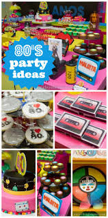 Neon Themed Decorations Compact 80s Party Favors 114 80 Birthday Party Favors Neon