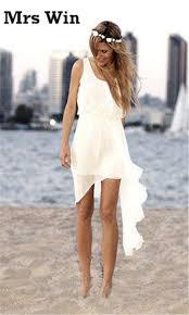 online get cheap short casual wedding dresses beach aliexpress