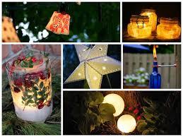 Diy Patio Lights Stunning Diy Outdoor Lighting Ideas