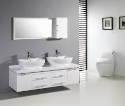 vessel sinks modern master bathroom plan 3971 home designs and decor