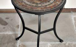 Ceramic Accent Table Fabulous Ceramic Accent Table Punched Ceramic Accent Table Pottery
