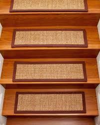 Stairs Rugs Simple Oriental Carpet On Laminate Wood Stair Treads Design Ideas