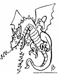 fire breathing dragon coloring pages aecost net aecost net