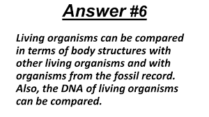 question 1 how can you tell that organisms are members of the