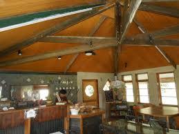 architecture interesting home design with scissor truss