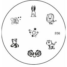moyou usa nail art stamping plate 206 canwest wholesale esthetics