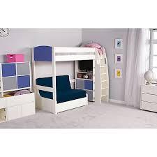 High Sleeper Bed With Futon Stompa Casa 5 High Sleeper With Sofa Bed Centerfieldbar Com