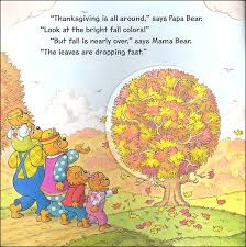 berenstain bears thanksgiving all around 056229 details