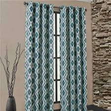 Teal Window Curtains Carsen Grommet Window Curtain Panel But Not Sure I D Want A