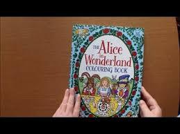 alice wonderland colouring book rachel cloyne