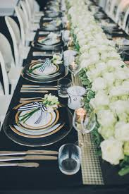 modern table linen modern toronto wedding from mango studios melissa andre events